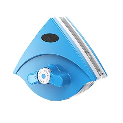 0 ℃ Outdoor Limpiador De Ventanas Magnéticas Ajustables Doble Cara Limpiaparabrisas Rascador Ventana Limpieza Cepillo con