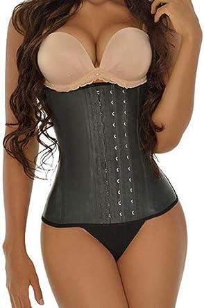 3361472a75e Ann Honey Women s Underbust Latex Sport Hourglass Waist Trainer Cincher  Body Shaper