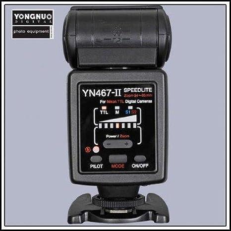 Yongnuo YN-467 II i-TTL flash Speedlite para Canon cámaras réflex ...