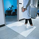 36'' x 45'' Grey Clean Room Sticky Mats (4 pads:30 sheets/pad) - AF-CRM-3636-GR