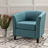 Christopher Knight Home 299526 Preston Arm Chair, Dark Teal