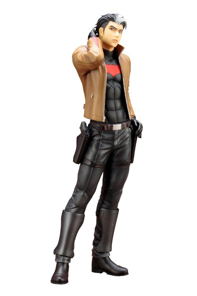 tiempo libre DC Comics KOTOBUKIYA rojo Hood Estatua 24 CM CM CM iKEMEN Series  caliente