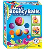 Gupta Fancy Store Magic Bouncy Balls, Includes 12 Balls (Color May Vary)