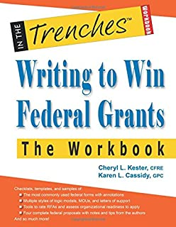 Book Cover: Writing to Win Federal Grants -The Workbook