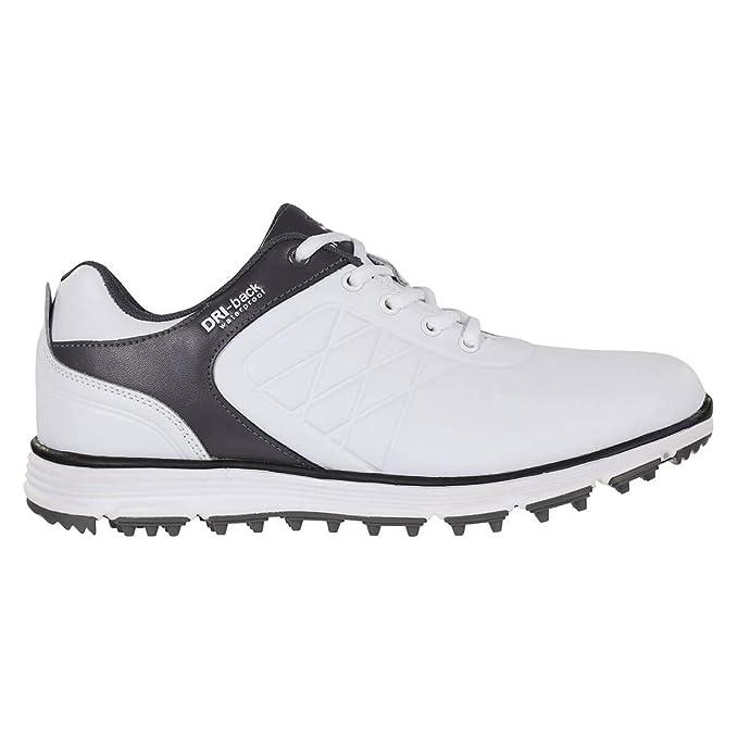 ccf24cb5622 Stuburt Mens 2019 Evolve Waterproof Leather Spikeless Golf Shoes