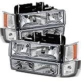 1998 silverado 2500 - Chevy C/K 1500/2500/3500 Tahoe Suburban Silverado Full Size C10 Headlights Driver/Passenger Headlamp