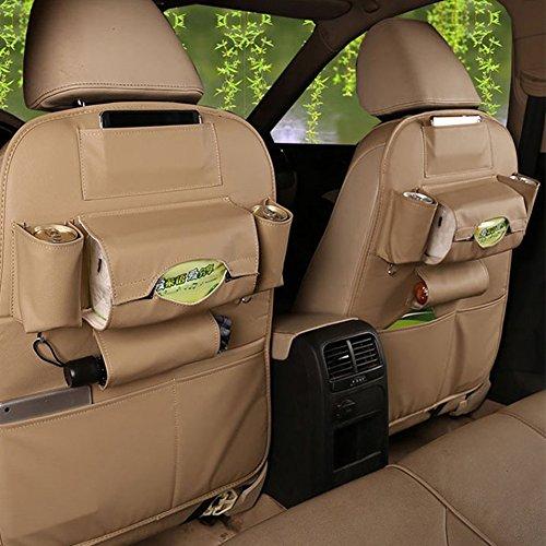TOCGAMT Leather Backseat Organizer Tablet product image