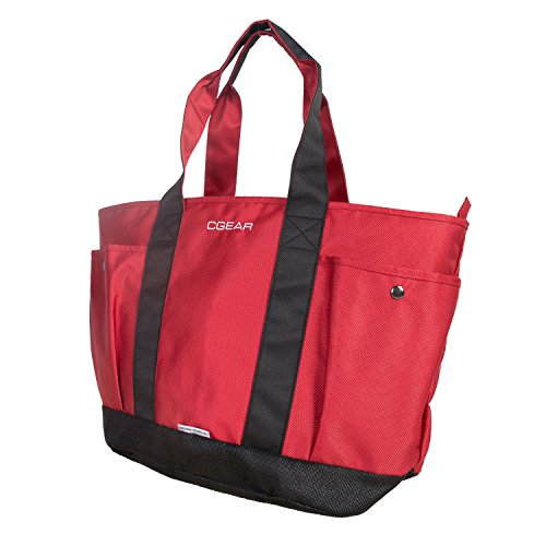 Sand, Dirt & Dust disappear - CGEAR SAND-FREE TOTE III, Red/Black