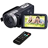 Digital Camera Camcorder DIWUER HD 1080P IR Night Vision 24.0 MP Camera with DV 3.0 TFT LCD Rotation
