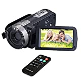 Digital Camera Camcorder DIWUER HD 1080P IR Night Vision 24.0 MP Camera with DV 3.0 TFT LCD Rotation Touch Screen