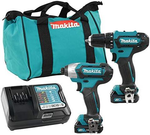 Makita CLX224 12V Max CXT 2Pc Combo 1.5Ah Kit (Td110Dz+Df333Dz)
