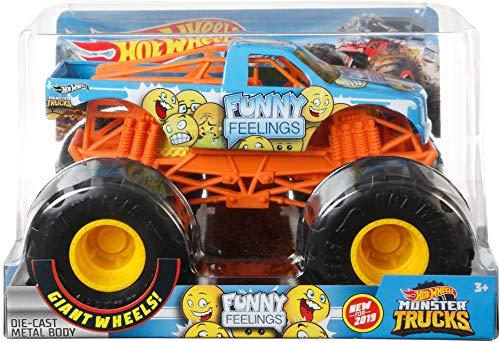 Hot Wheels Monster Trucks 1:24 Funny Feelings Vehicle