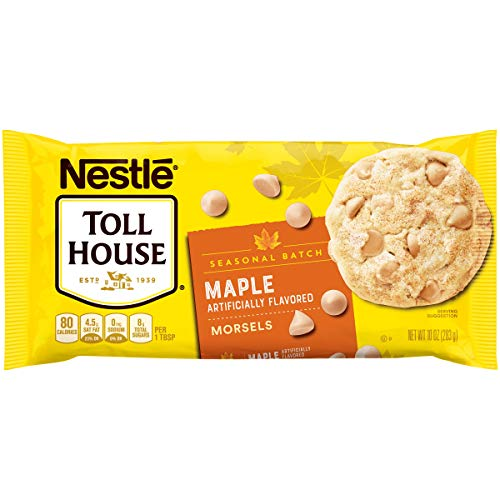 Nestle Toll House Seasonal Batch Limited Edition Maple Flavored Morsels, 10 Ounce Bag (Pack of ()