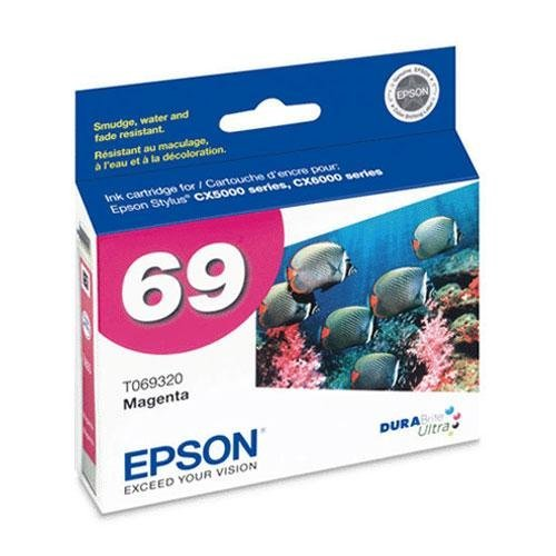 (EPST069320 Ink Cartridge, for CX5000/6000, 400 Page Yield, Magenta)