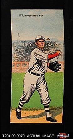 20e75f0a2af74 Amazon.com  1911 T201 Mecca Bill Bergen Zach Wheat Brooklyn Dodgers ...