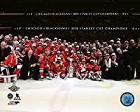 "Chicago Blackhawks 2015 Stanley Cup Champions Team Celebration Photo (Size: 8"" x 10"")"