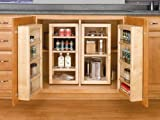 Rev-A-Shelf 4WB Swing Out Pantry Kit - 25'' Height - Wood