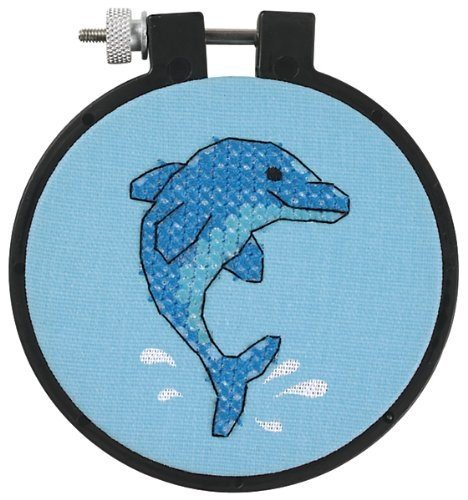 - Dimensions Learn-A-Craft Dolphin Delight Stamped Cross Stitch Kit: 3