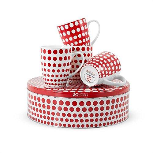 Speckle Mugs Cake Tin White product image