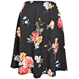 Stretch is Comfort Women's A-Line Skirt Multi Floral X-Large
