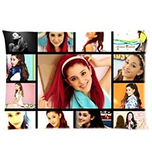Ariana Grande Butera Best New Artist Collection Personalized Roomy Zippered Pillow Case 30x20 (One Side) CMF_008