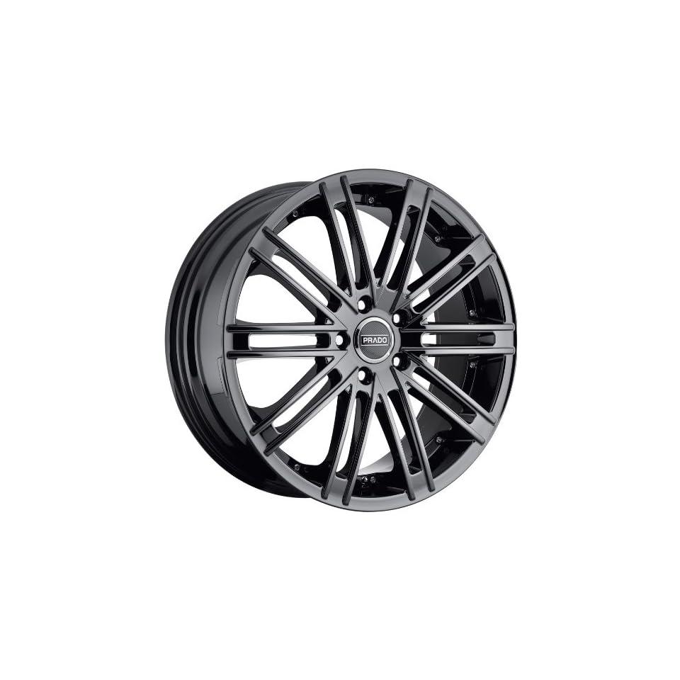 Prado Arcana 18 Black Chrome Wheel / Rim 5x4.5 & with a 25mm Offset and a 73.1 Hub Bore. Partnumber 903 8865PB25