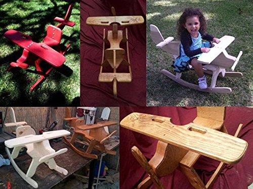 Wooden Airplane Rocker