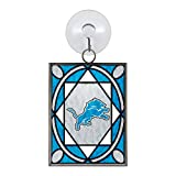 NFL Detroit Lions Stained Glass Ornament
