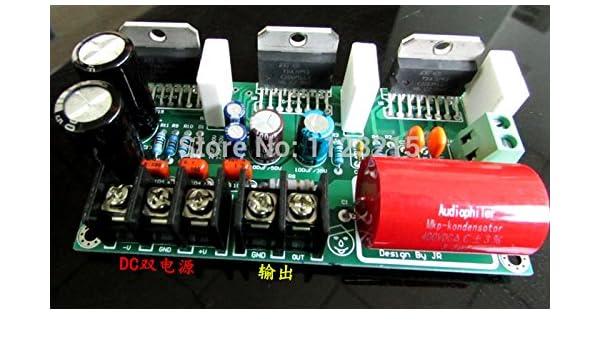 MU amplificadores amplificador mono TDA7293 3 paralelo 250w tres TDA7293 paralelo bordo amplificador mono amplificador después tablilla fácil para ...