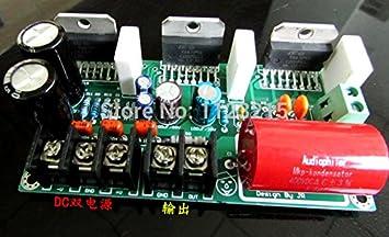 MU amplificadores amplificador mono TDA7293 3 paralelo 250w tres TDA7293 paralelo bordo amplificador mono amplificador después