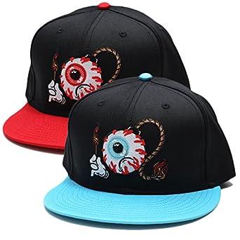 【EXSP1727】 ミシカ MISHKA キャップ CAP 帽子 KEEPWATCH キープウォッチ 刺繍 ブランドロゴ 爆弾アート