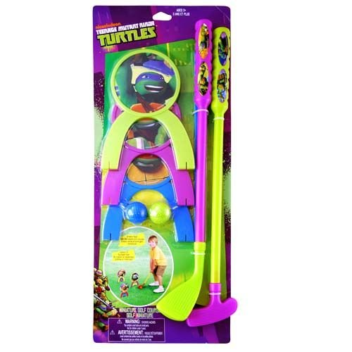 Turtles ADORABLE Toy Golf Set for Indoor and Outdoor Fun! Includes Miniature Golf Course (Miniature Golf Course)
