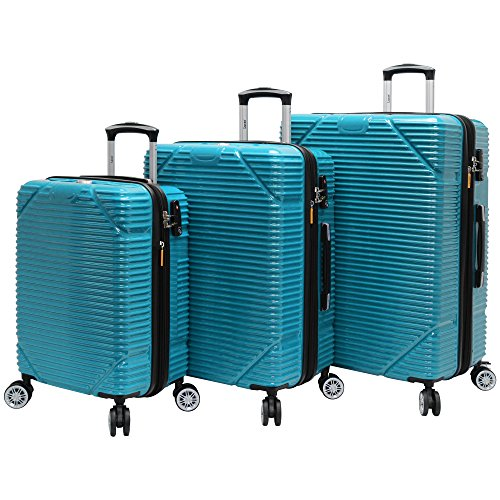 lucas-3-piece-rolling-luggage-set-hard-case-with-spinner-wheels-teal