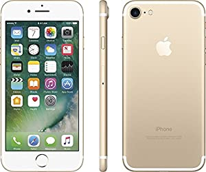 Apple iPhone 7 128GB (GSM Unlocked) 4.7-inch 12MP iOS Smartphone - Gold (Certified Refurbished)