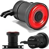 Houkiper COB LED EnSca Lens Bicycle Tail Light Luz de freno de señal de giro USB Recargable