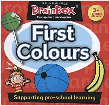 Brain Box- First Colours, juego de mesa, Multicolor (BrainBox G0990070) , color/modelo surtido: The Green Board Game Co: Amazon.es: Juguetes y juegos
