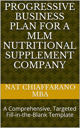 Amazon progressive business plan for a mlm nutritional progressive business plan for a mlm nutritional supplement company a comprehensive targeted fill cheaphphosting Gallery