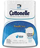Cottonelle Fresh Care Flushable Cleansing Cloths Dispenser TgohGd, 42 Count (Pack of 4)