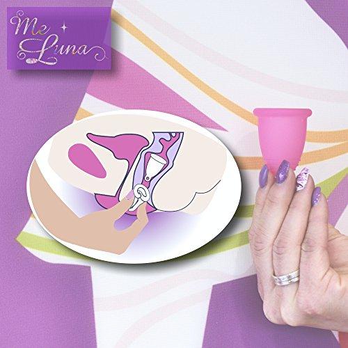 Violeta Talla Violeta 1 Menstrual Copa S Con Unidad Meluna Color Classic Anillo w4YSUq0Zxg