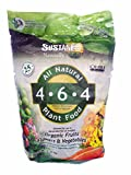 Sustane All Natural Flower and Vegetable Plant Food, 5-Pound