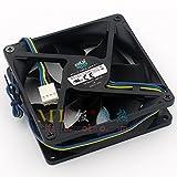 A9225-28RB-4BP-F1 DF0922512RFUN 12V 0.6A 4Wire Cooling Fan