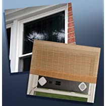 Double Hung Window Solar Air Heater Panel - 32x18
