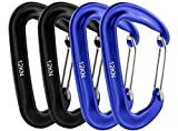 Fusion Wave Screw Gate Carabiner