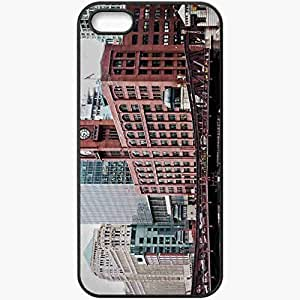 Protective Case Back Cover For iPhone 5 5S Case Chicago Illinois Black