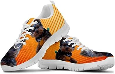 Shoetup Blue Eyes Yorkshire Print Mens Casual Running Shoes