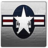 Rikki Knight 8933 Double Toggle United States Air Force Logo Design Light Switch Plate
