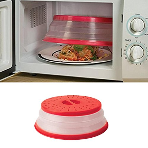 Price comparison product image Nacome Home Kitchen Food Fresh Cover,  Collapsible Microwave Cover