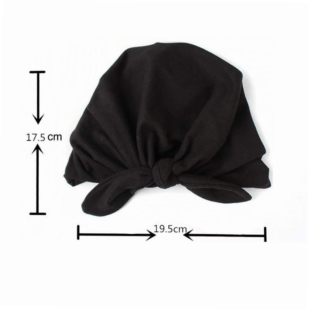 Orecchie del bambino Beb/è Bambino Knot Cappello Hare legare la testa cilindrica accessori del vestiario per ragazze carine Turbante