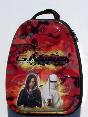 GI Joe - Tin Embossed Red Mini Backpack Lunch Box