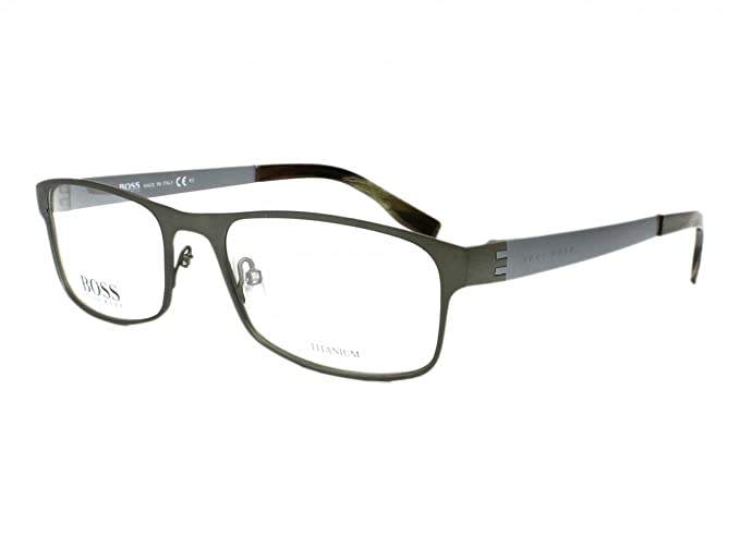 99ca3578b9 Image Unavailable. Image not available for. Colour  Optical frame Hugo Boss  Titanium ...